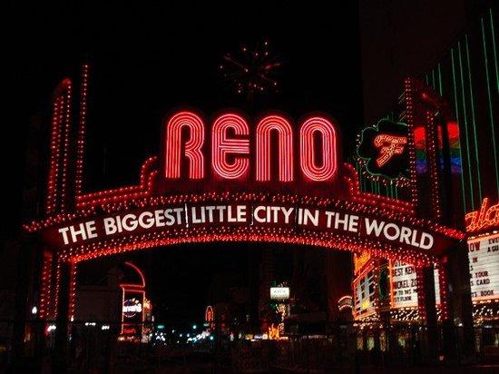 คาสิโน Reno เมืองแห่งพนันและคาสิโน ถูกจัดให้เป็นโซนพื้นที่การพนันประจำรัฐเนวาดา