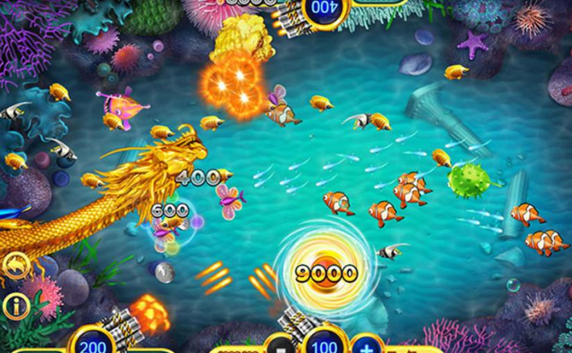 การเล่น เกมยิงปลา